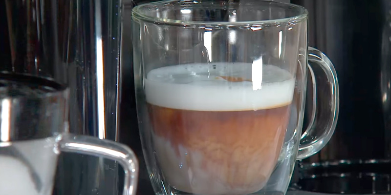 Keurig Rivo Cappuccino and Latte System in the use