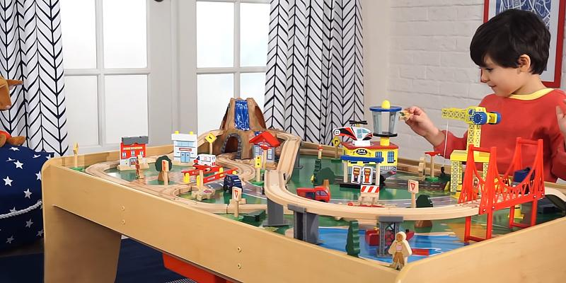 Review of KidKraft Waterfall Mountain Train Set and Table