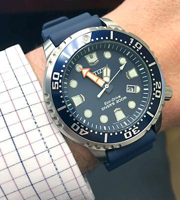 Review of Citizen BN0151-09L Watches Men's Promaster Professional Diver