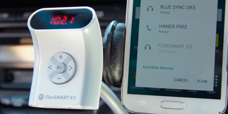Detailed review of GoGroove FlexSMART X3 Bluetooth FM Transmitter