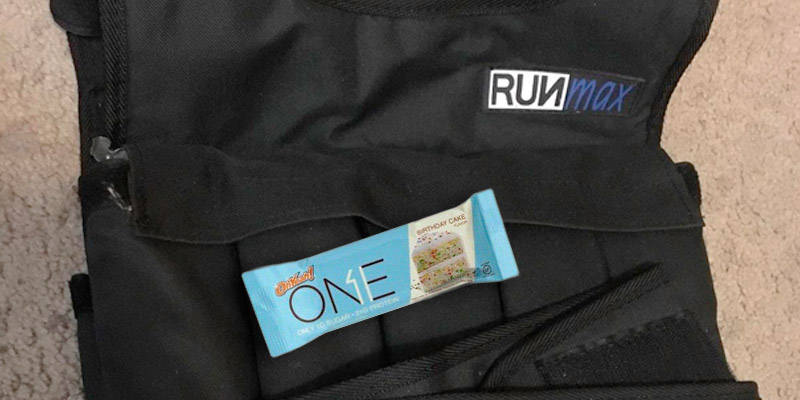 RUNFast Adjustable Weighted Vest application