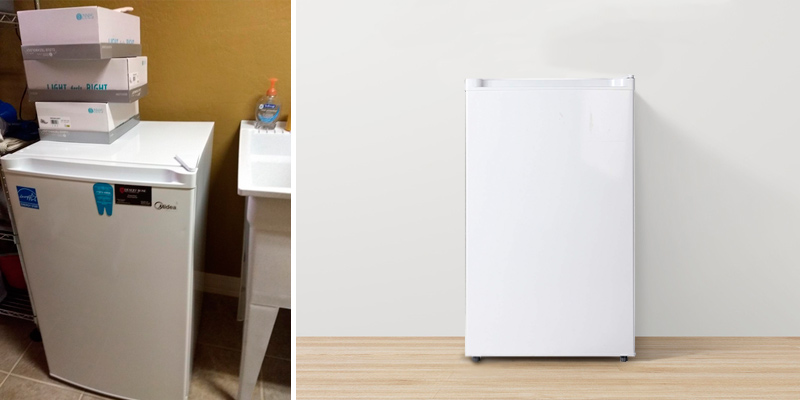 Review of Midea 3.0 Cu.Ft. Upright Freezer, WHS-109F