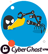 CyberGhost Fast and Secure VPN Service