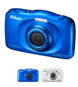 Nikon COOLPIX S33 Waterproof Digital Camera
