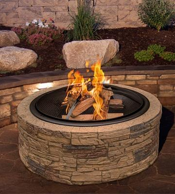 Review of Sun Joe SJFP35-STN Cast Stone Fire Pit