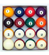 Aramith Crown Standard Billiard/Pool 16-Ball Set