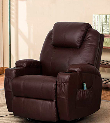 Review of MAGIC UNION Massage Recliner Power Lift Massage Recliner Heated Vibrating Chair