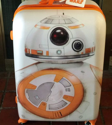 "Review of American Tourister Star Wars 21"" Hard Side Spinner"