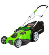 GreenWorks 25302 20-Inch 40V Twin Force Cordless Lawn Mower