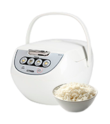 Tiger Corporation JBV-A10U-W Micom Rice Cooker with Food Steamer and Slow Cooker