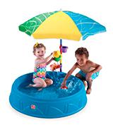 Step2 Play and Shade Kiddie Pool
