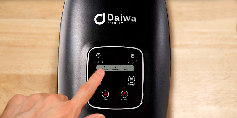 Review of Daiwa Felicity Palm Hand Massagers