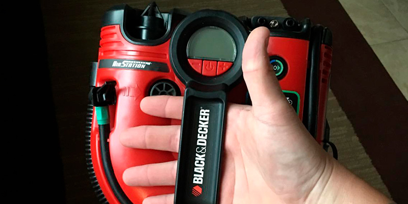Detailed review of Black & Decker ASI500 Cordless Air Station Inflator