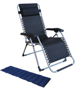 Le Papillon All Seasonal Zero Gravity Chair Adjustable Recliner