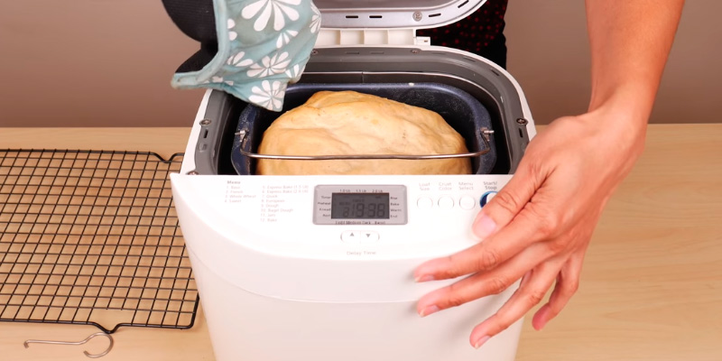 Oster CKSTBRTW20 Expressbake Bread Machine application