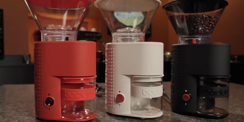 Detailed review of BODUM Bistro Electric Electronic Coffee Grinder with Continuously Adjustable Grind