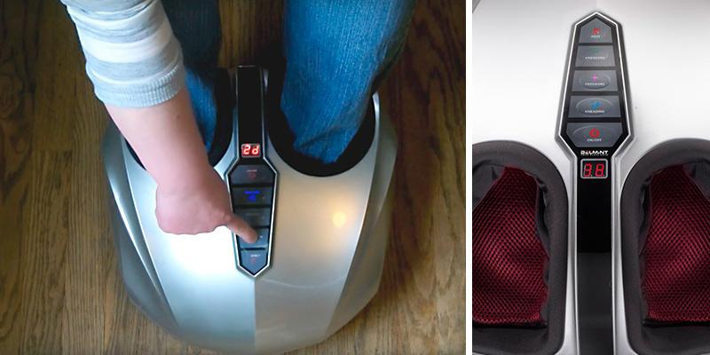 Belmint Shiatsu Foot Massager with Heat in the use