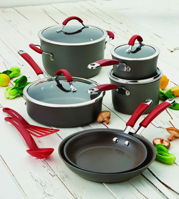 Review of Rachael Ray 87630 Hard Anodized Nonstick 12 Piece Cookware Set