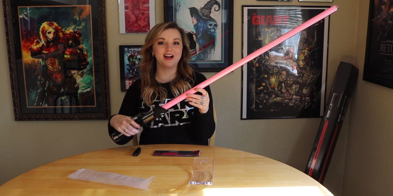 Review of Star Wars Darth Vader Force FX Lightsaber
