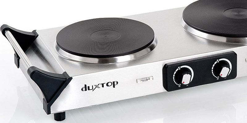 Detailed review of Duxtop Portable Electric Countertop Double Burner