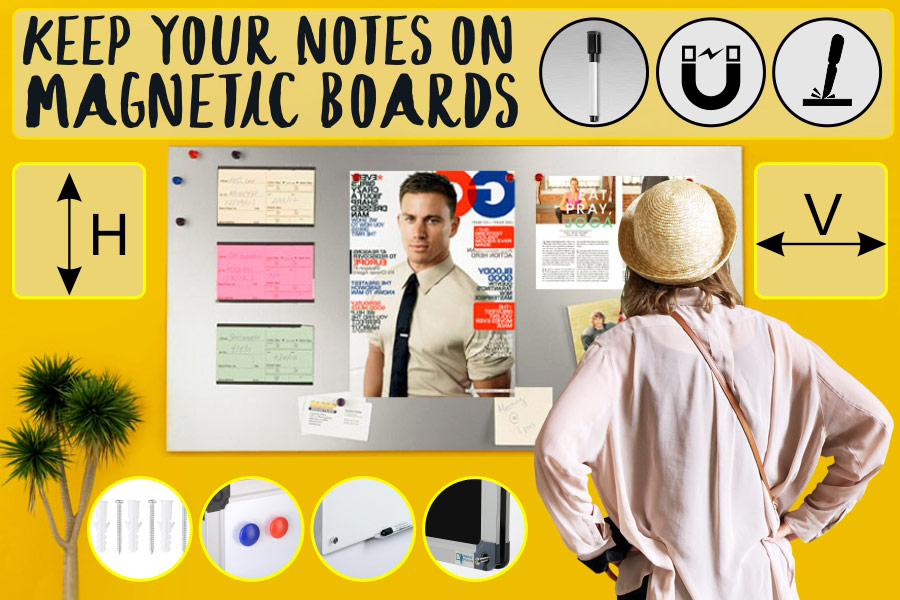 Comparison of Magnetic Boards to Organize Your Working Place