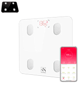 FITINDEX ES-26M Smart Digital Bathroom Scale with Bluetooth