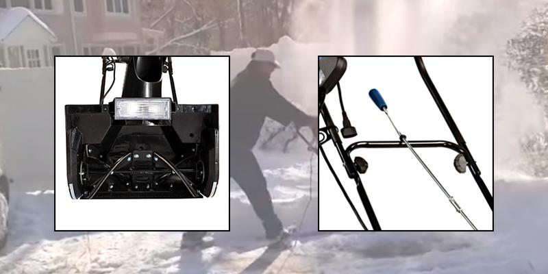Snow Joe Ultra SJ621 Electric Snow Thrower in the use
