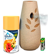 Glade Automatic Spray Air Freshener Starter Kit, Hawaiian Breeze (2pack)