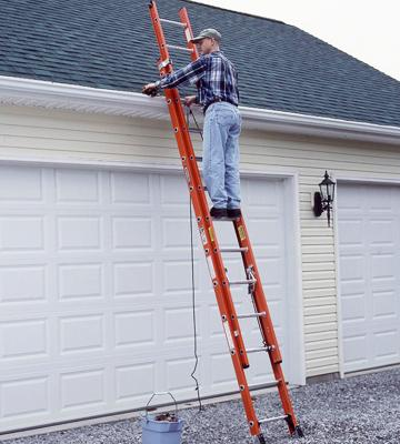 Review of Werner D6224-2 Fiberglass Extension Ladder