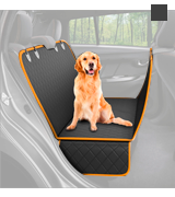 Active Pets Dog Back Seat Cover Protector Waterproof Scratchproof Nonslip Hammock