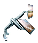 TechOrbits OF-MAA-10-C024 Dual Monitor Mount Stand (Fits up to 30)