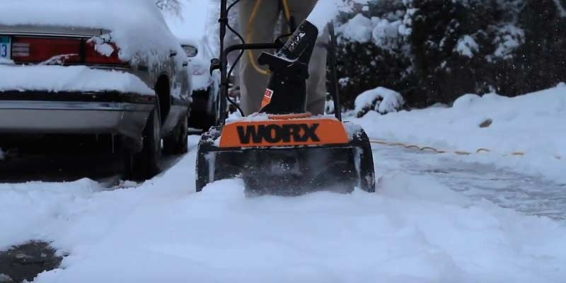 Detailed review of WORX WG650 Electric Snow Thrower