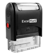 ExcelMark Up to 3 Lines Custom Self-Inking Stamp