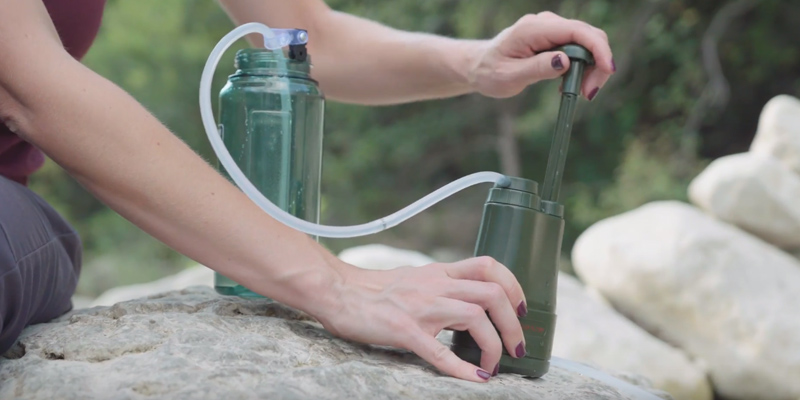 Review of Survivor Filter PRO Water Filter for Camping, Hiking and Emergency