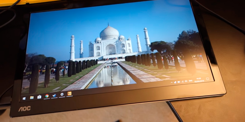 "Review of AOC I1601FWUX 16"" IPS, USB-C Powered Portable Monitor (FullHD, 5ms, Smart Cover/Stand)"
