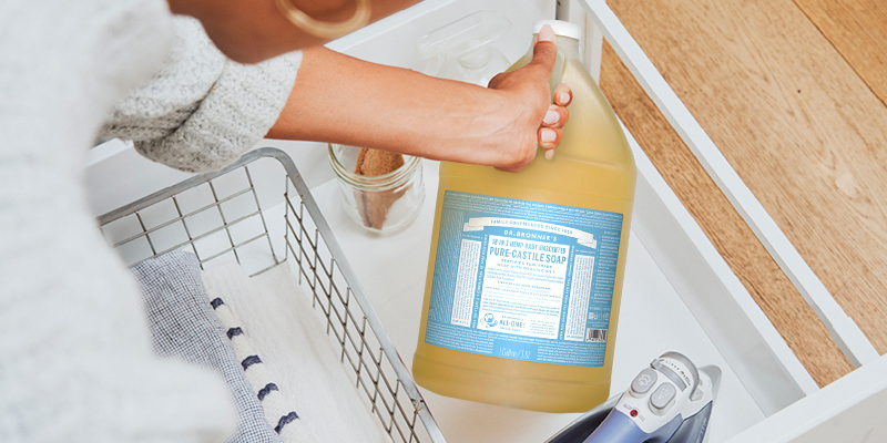 Review of Dr. Bronner's Made with Organic Oils Pure-Castile Liquid Soap