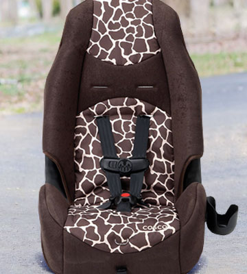 Review of Cosco BC038AZR Highback 2-in-1 Booster Car Seat