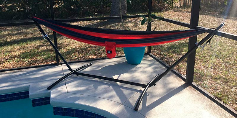 Review of Best Choice Products Space Saving Steel Hammock Stand
