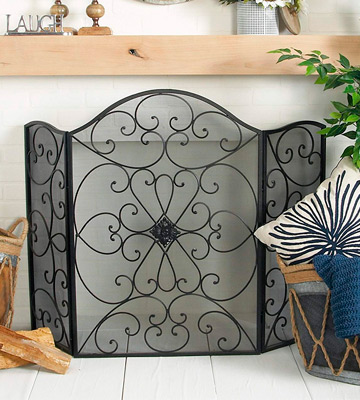 Review of Deco 79 21626 Metal Fire Screen Ultimate