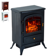 HomCom 820 Freestanding Electric Fire Place Stove