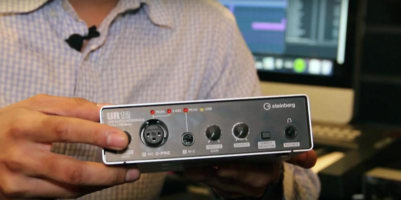 Review of Steinberg UR12 Audio Interface