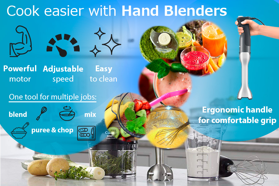 Comparison of Hand Blenders