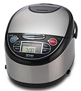 Tiger JAX-T10U-K Rice Cooker with Food Steamer