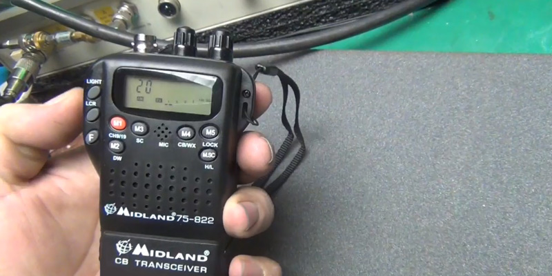 Review of Midland 75-822 40 Channel CB-Way Radio