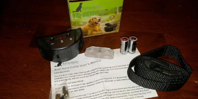 Detailed review of Naturepets 7 Sensitivity Adjustable No Harm Shock Dog Control
