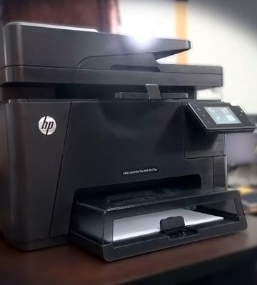 Review of HP LaserJet Pro MFP (M177fw) All-in-One Color Printer