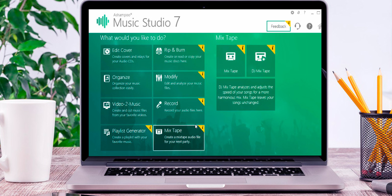 Ashampoo Music Studio 7: Everything Your Songs Need! in the use