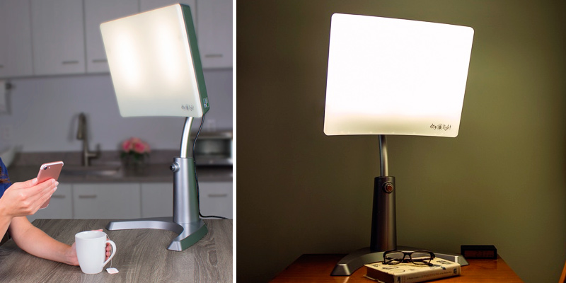 Review of Carex Health Brands Day-Light Classic Plus Bright Light Therapy Lamp
