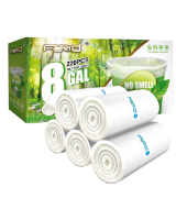 FORID Clear Medium Garbage Bags Trash Bags