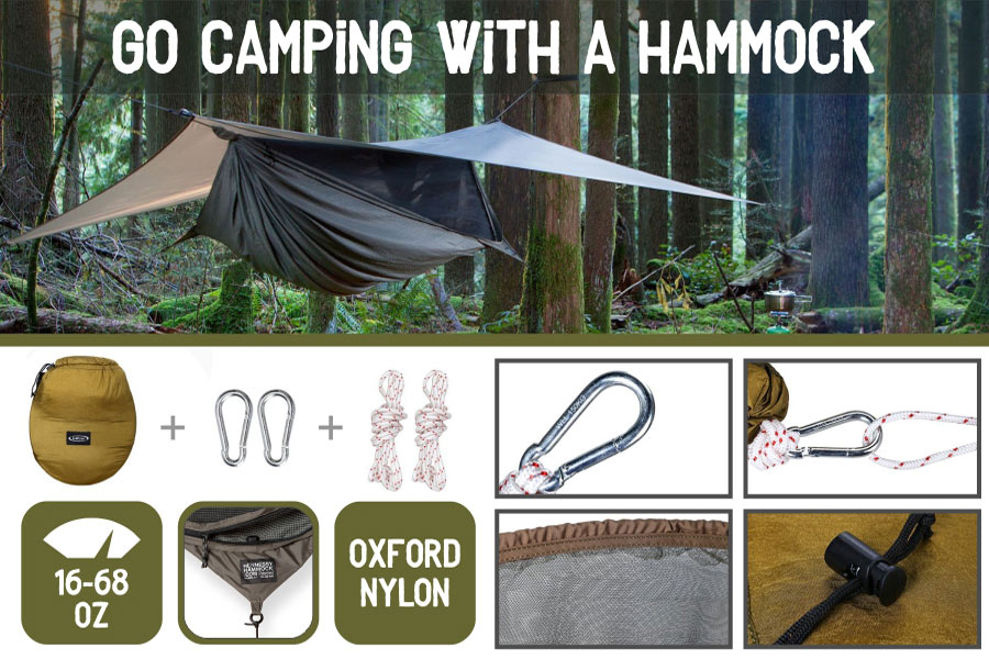 Comparison of Camping Hammocks for a Restful Sleep